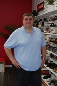 Stepan Yadakh, owner of Comfort Shoes Plus